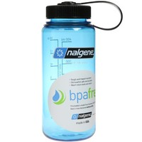 Nalgene Tritan Wide Mouth BPA-Free Water Bottle, 1-Quart