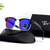 Ray Ban 2019 new men and women models large frame polarized driving sunglasses #1