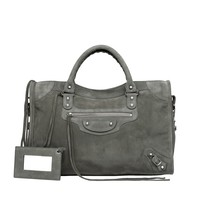 Balenciaga Baby Daim City - Top handle bag