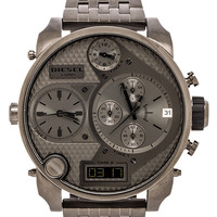 Diesel Mr Daddy DZ7247 in Metallic Silver