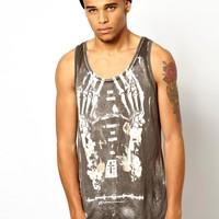 Religion | Religion Vest With Skeleton Hands at ASOS
