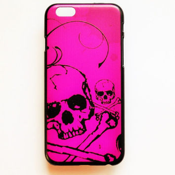 iPhone 6 Case Skull Pattern iPhone 6 Hard Case Day Of The Dead Back Cover For iPhone 6 Slim Design Case