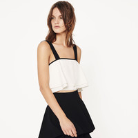 CROP TOP - View All-TOPS-WOMAN | ZARA United Kingdom
