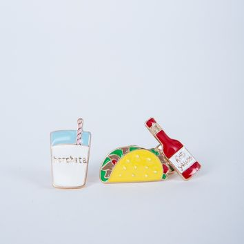 Tacos are Life Pin Set