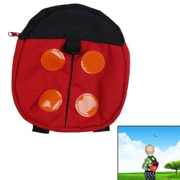 Baby Walking Wings Machine Washable LUFY Children Safety Harness Backpack Ladybird Baby Anti-lost Baby Walking Wings Red