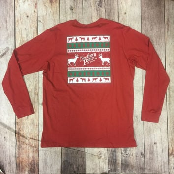 Southern Point Christmas Tee