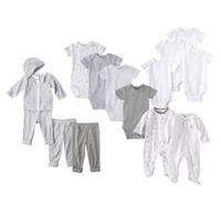 PRECIOUS FIRSTS® Made by Carters Newborn Boys' Layette Bundle - Grey