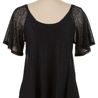Lace V-neck Top - maurices.com