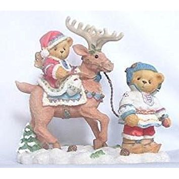 """Enesco Cherished Teddies Sven and Liv """"All Paths Lead to Kindness and Friendship"""""""