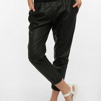 Urban Outfitters - Sparkle & Fade Faux Leather Pull-On Pant