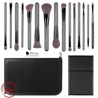 Ducare Makeup Brushes Sets 15Pcs High Quality Professional Brush Set With Portable Mirror Cosmetic