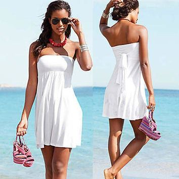 PEAPGC3 Beach Cover Up Stylish Floral Sexy Beach Tunic Women Bikini Cover-ups Beachwear Swimsuit Cover Up Loose Dress Swimsuit