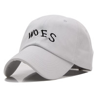 Drake Woes White Dad Hat