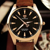 Men Watch Noctilucent Waterproof Quartz Watch [281920733213]