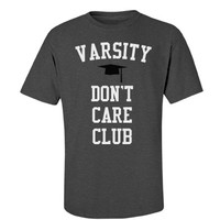 Varsity don't care club: Creations Clothing Art