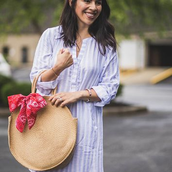 Easy Does It Shirt Dress