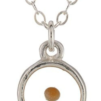 Bob Siemon Sterling Silver Mustard Seed Pendant Necklace, 18""
