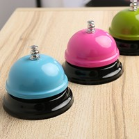 Color Random!!1PC New Kitchen Counter Hotel Call Bell Ringing For Service Bar Reception Restaurant