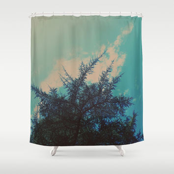 Go With The Flow Shower Curtain by DuckyB (Brandi)