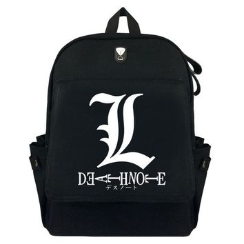 Anime Backpack School FVIP   kawaii cute Death Note Backpack 2 Color AT_60_4