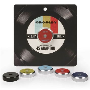 Crosley 45'er Aluminum Adaptor - Available in Many Colors