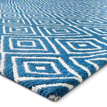 Captivating Threshold™ Indoor Outdoor Flatweave Diamond Rug : Target