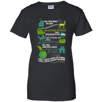 Read Books Shirt - I Will Read Books On A Boat, I Will ...