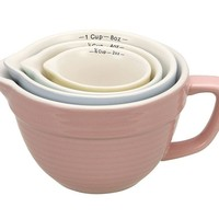 Batter Bowl Shaped Measuring Cups