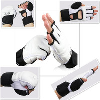 Taekwondo gloves WTF approve PU leather adult kids MMA Boxing glove karate martial arts kung fu protector Wing Chun hand guard