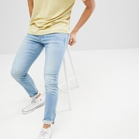 Jack & Jones Slim Fit Light Blue Jeans at asos.com