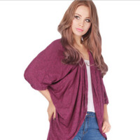 Loose Color Candy Cardigan B0014477