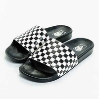 Vans Slide-On Checkerboard Sandal