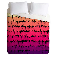 Rebecca Allen To The Pinks Duvet Cover