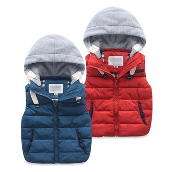Blue, Red Kid Child Baby Toddler New Born Infant Winter Snow Coat