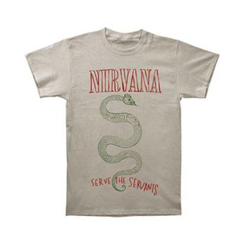 Nirvana Men's  Serpent T-shirt Ice