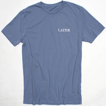 LATER Embroidery Tee