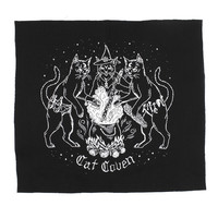 Cat Coven Fabric Back Patch
