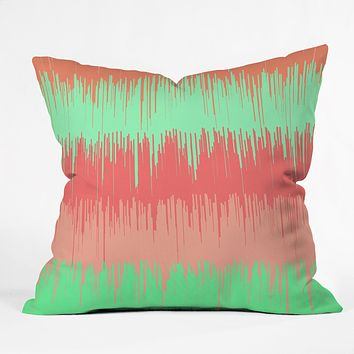 Rebecca Allen The Melting Point Throw Pillow