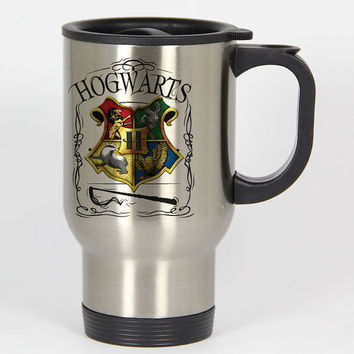 Hogwarts Alumni school Harry Potter travel mugs,coffee mug,tea mug,14oz