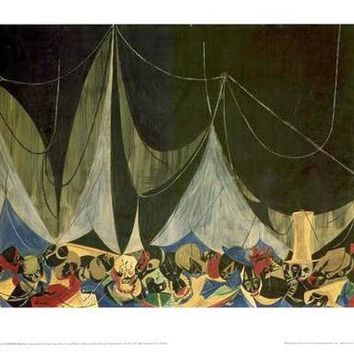 Marionettes Jacob Lawrence Art Print