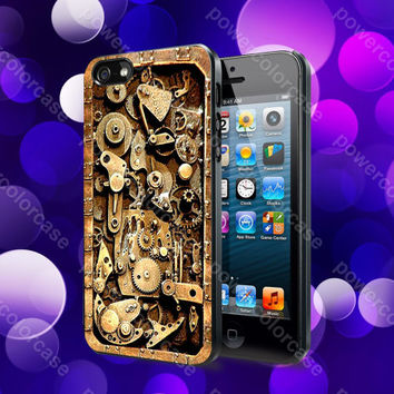 steampunk 2 Case For iPhone 5, 5S, 5C, 4, 4S and Samsung Galaxy S3, S4