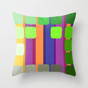 zappwaits wagenhallen Throw Pillow by netzauge