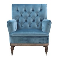 Bogart Accent Chair MARINE BLUE