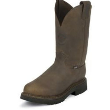 Justin Mens J-Max Pull On Bay Work Boot