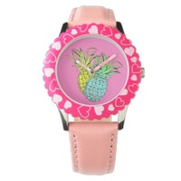 Pineapples Wrist Watch