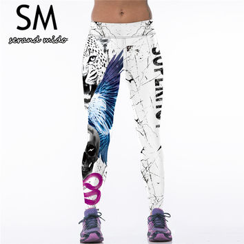 New Women Sports Yoga Pants Spandex Legging Gym Sportswear Workout Fitness Slim Tights Running Leggings Jogging Trousers
