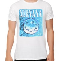 Nirvana Aqua Smiley T-Shirt