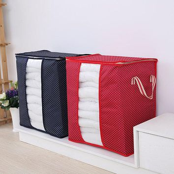 Oxford Cloth Quilts Storage Bags Folding Organizer Bags Portable Storage Container