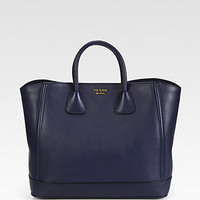 Prada - Large City Calf Double Handle Tote