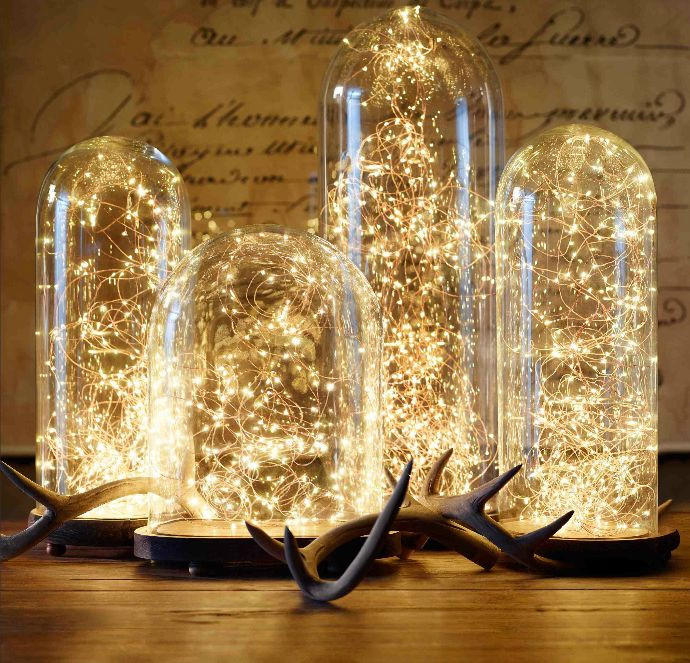 Firefly Fairy String LED Copper Plug In from Go Get Glam